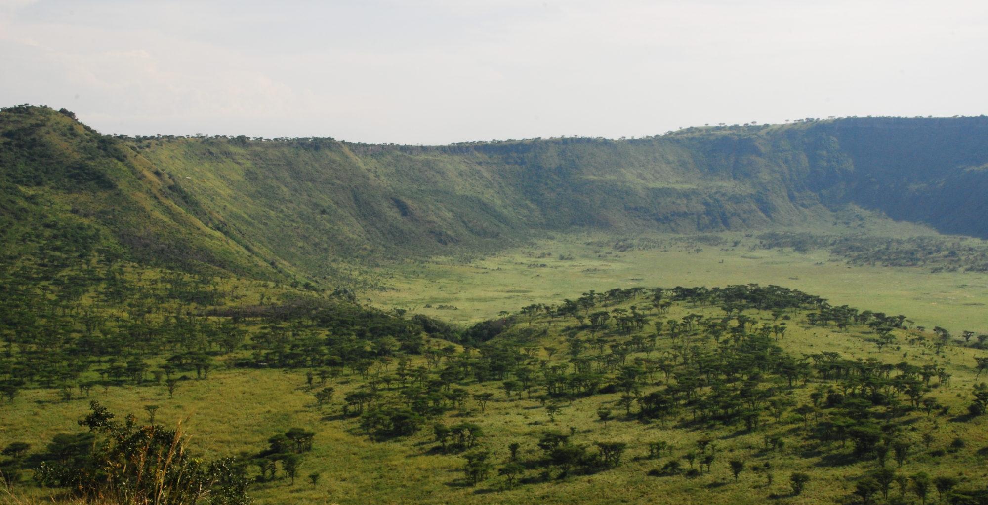 Queen Elizabeth Uganda Landscape