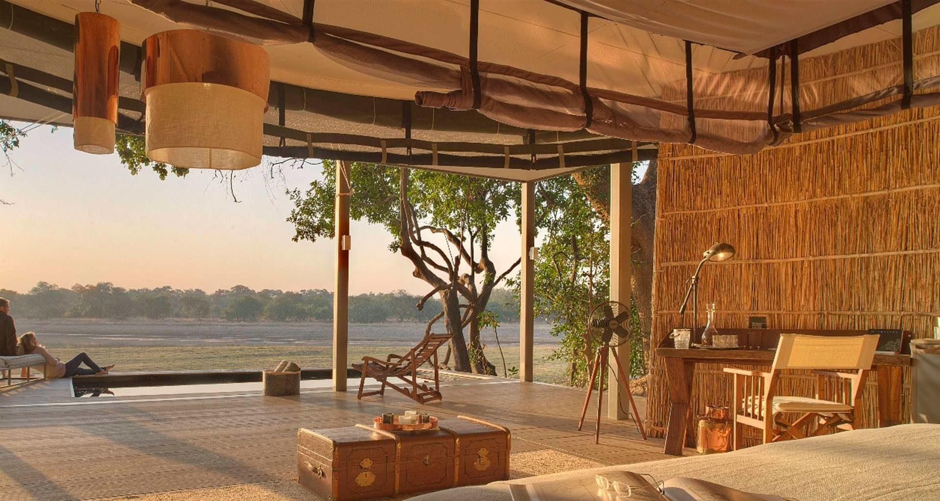 Chinzombo Zambia Bedroom