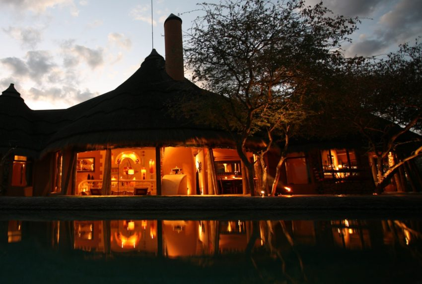 Okonjima Bush Suite Namibia Exterior Sunset