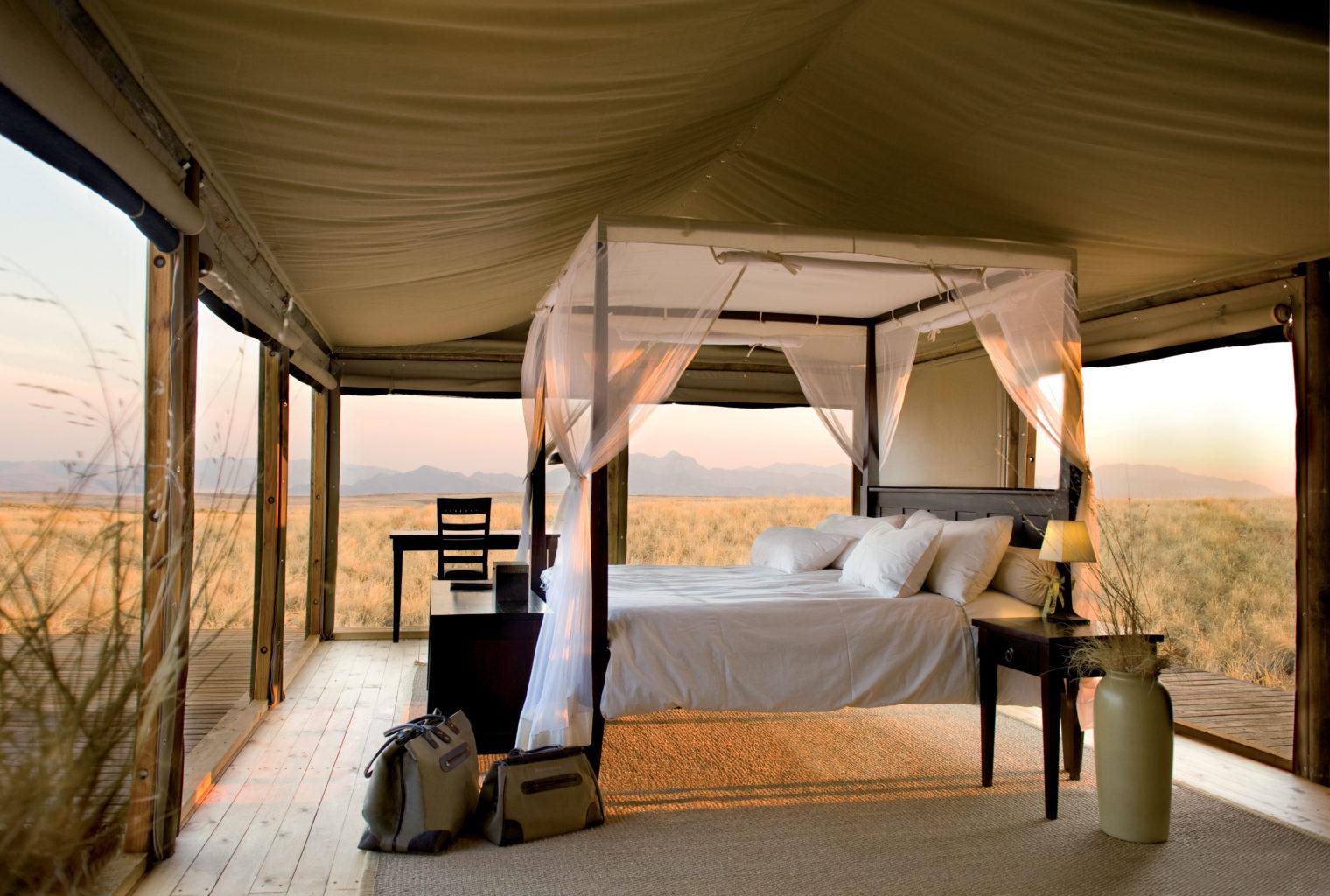 Wolwedans Dune Lodge Bedroom