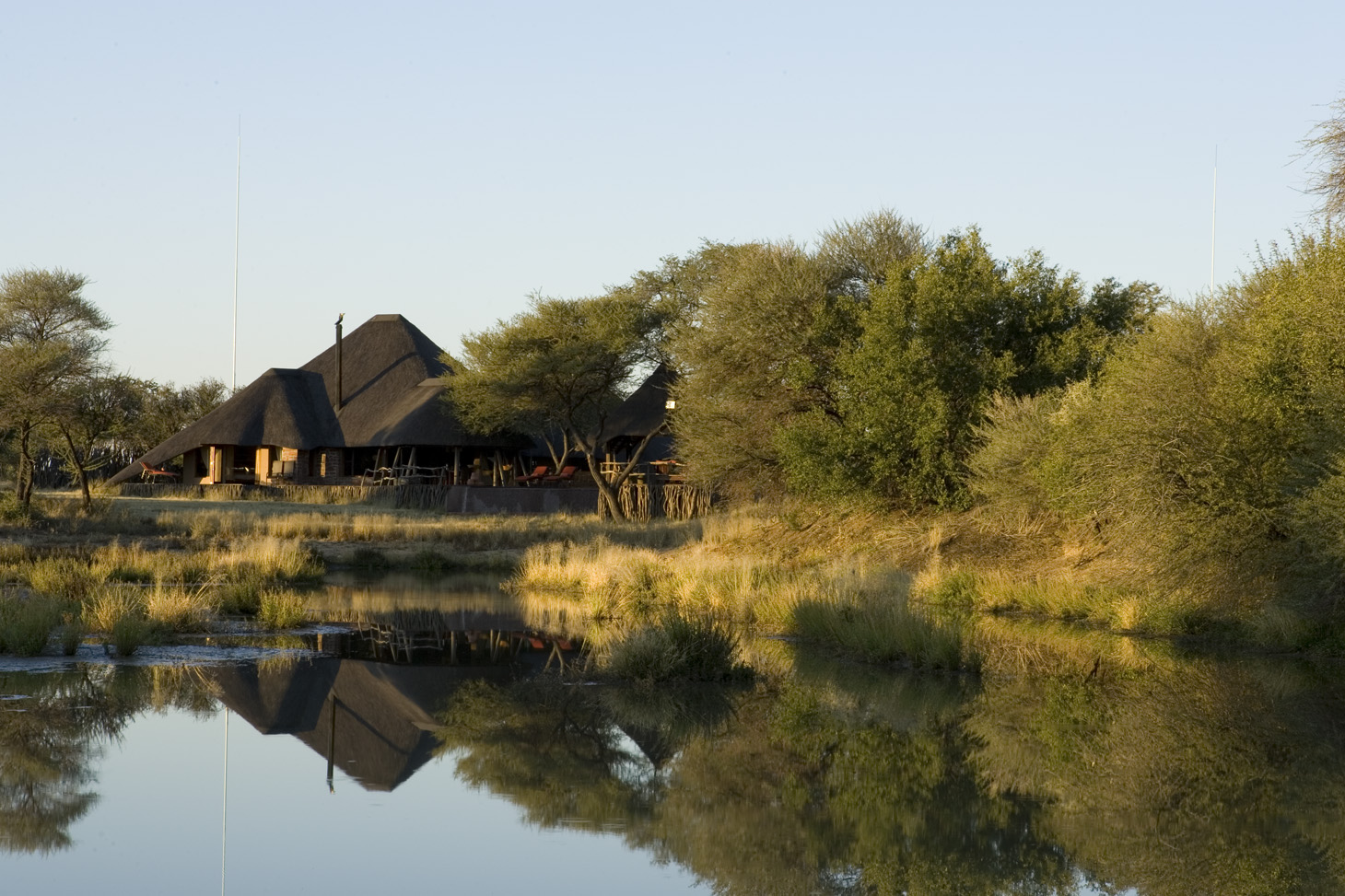 Okonjima Villa Namibia Exterior Long Shot