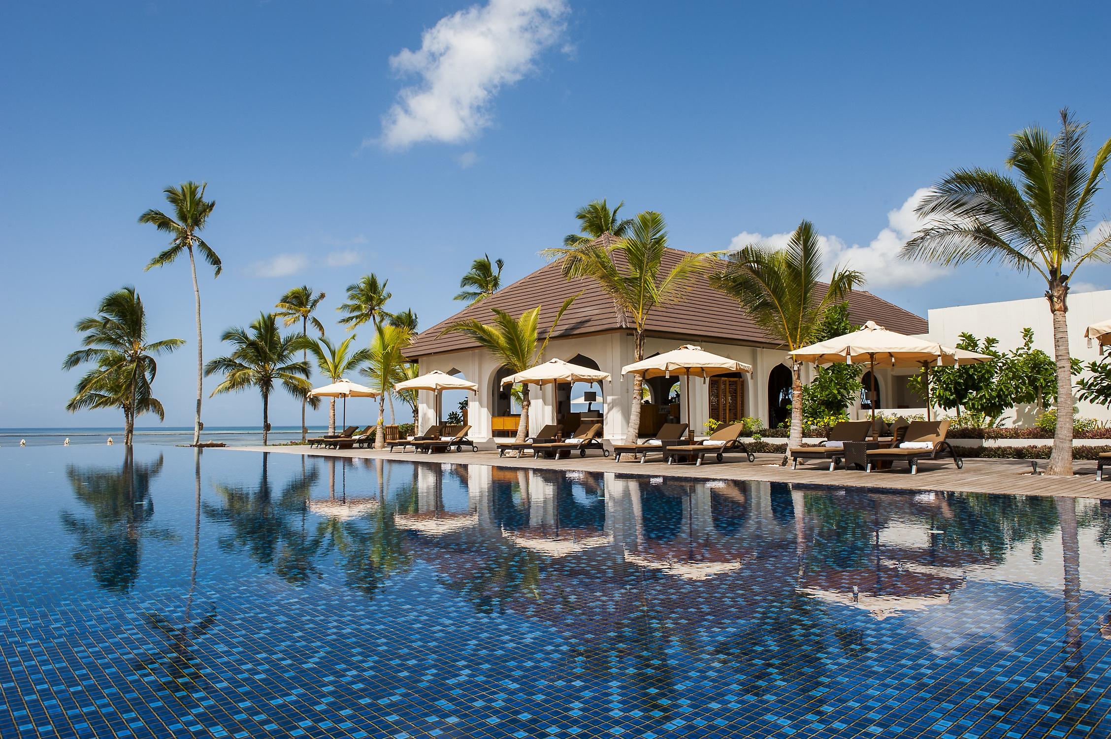 The Residence Tanzania Living Pool
