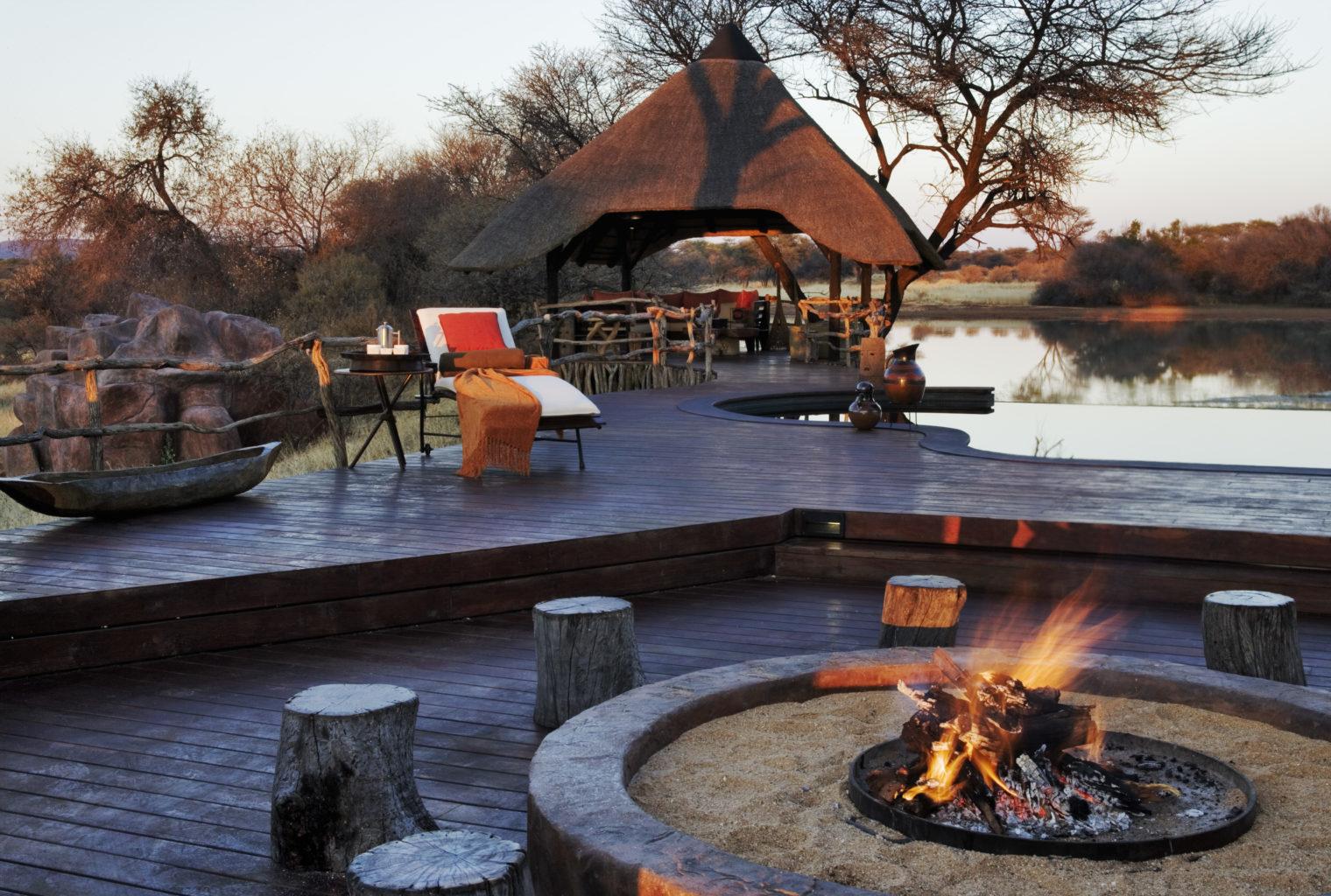 Okonjima Villa Namibia Pool