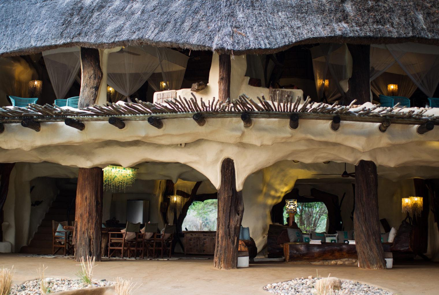 Chongwe River House Zambia EXterior