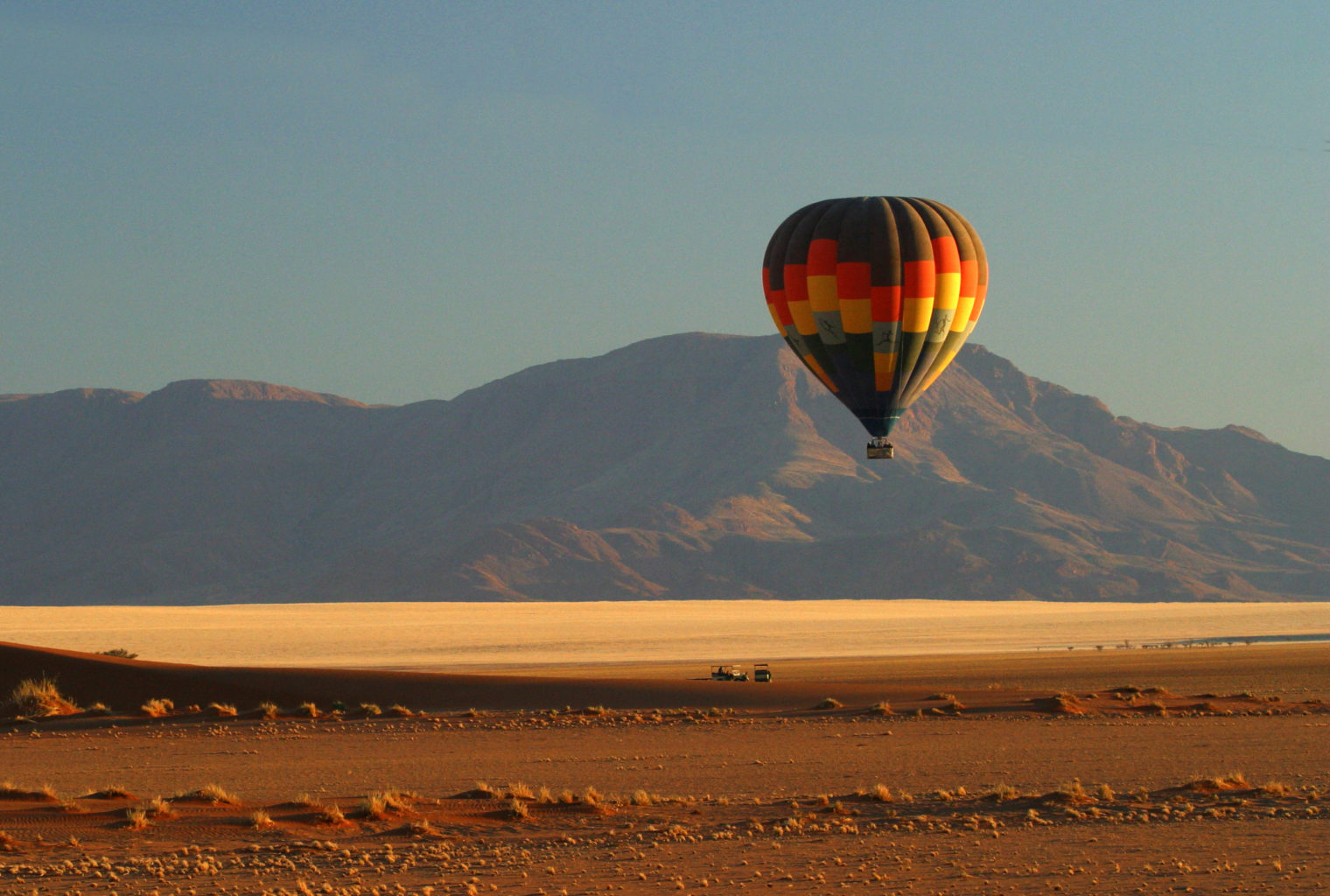 Wolwedans Boulders Camp Namibia Balloon
