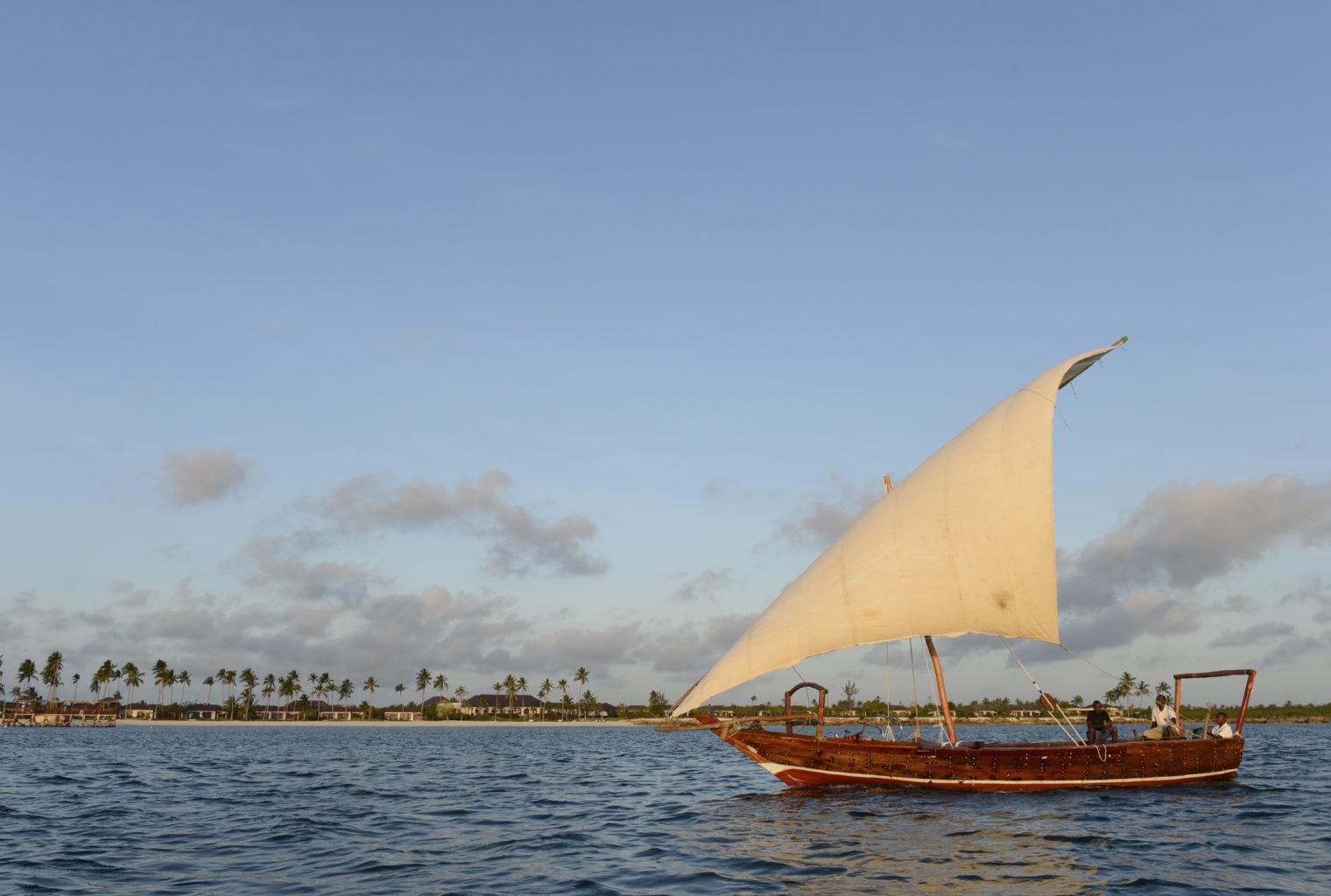 The Residence Tanzania Boat