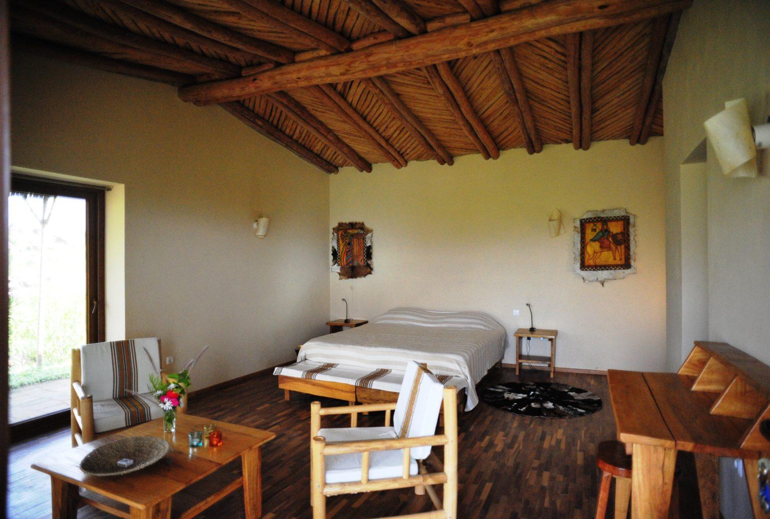 Korkor Lodge Ethiopia Bedroom