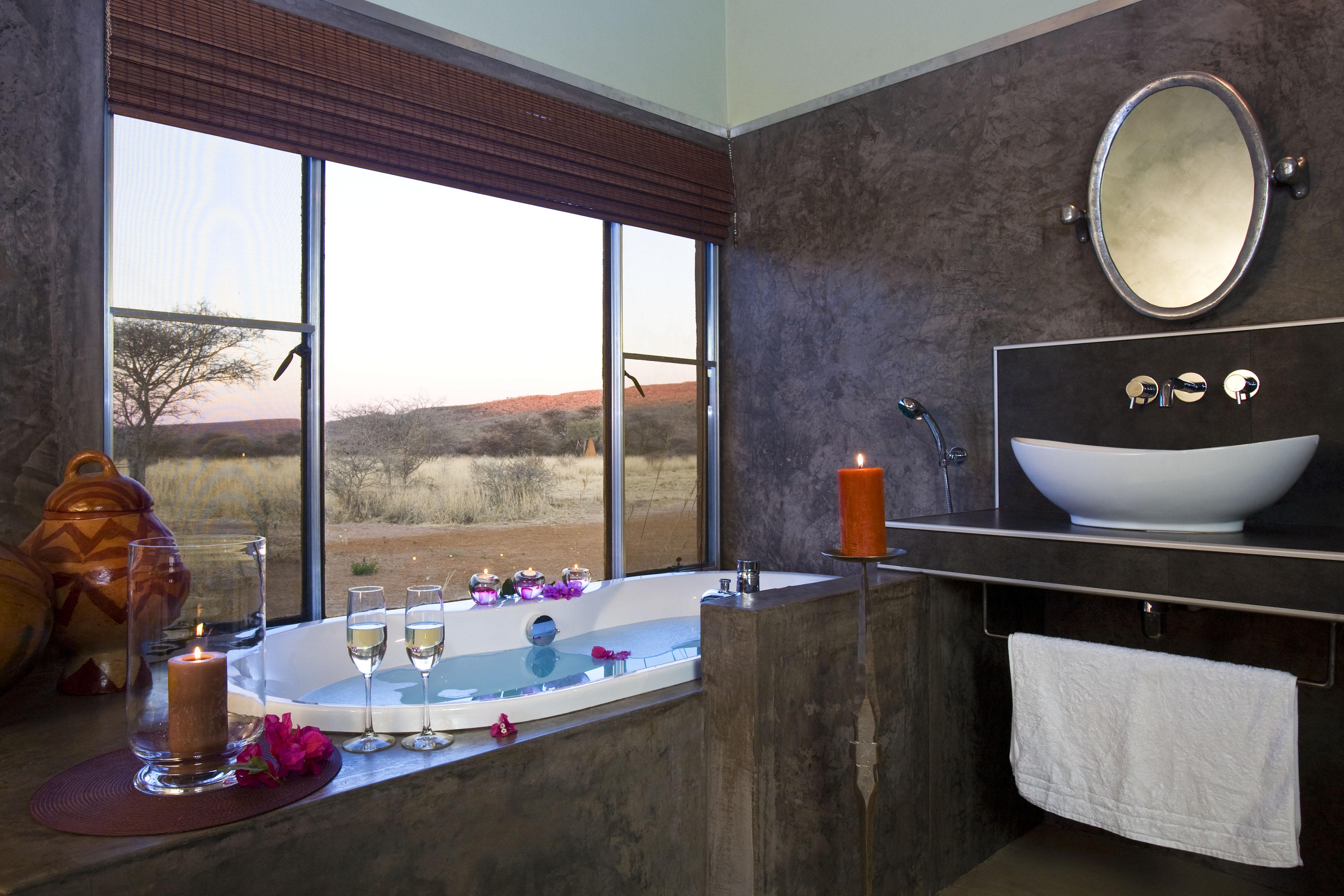 Okonjima Bush Camp Namibia Bath
