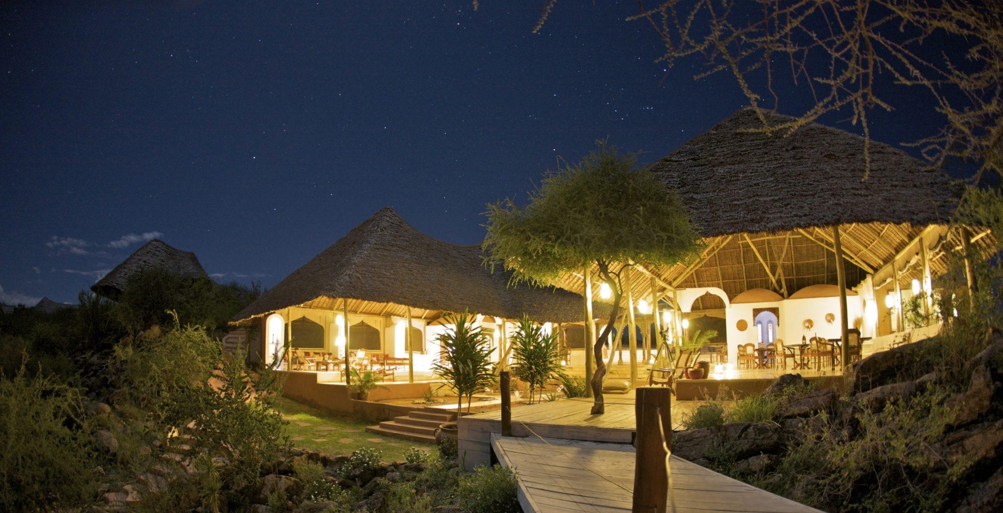 Sasaab Kenya Exterior Night