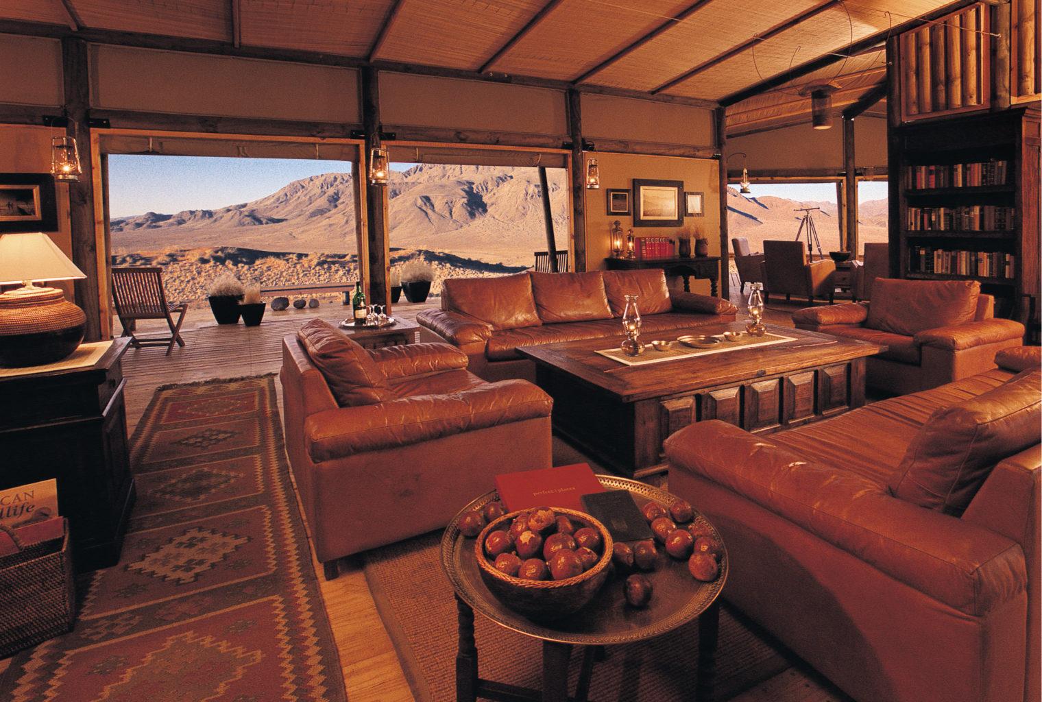 Wolwedans Dune Lodge Lounge