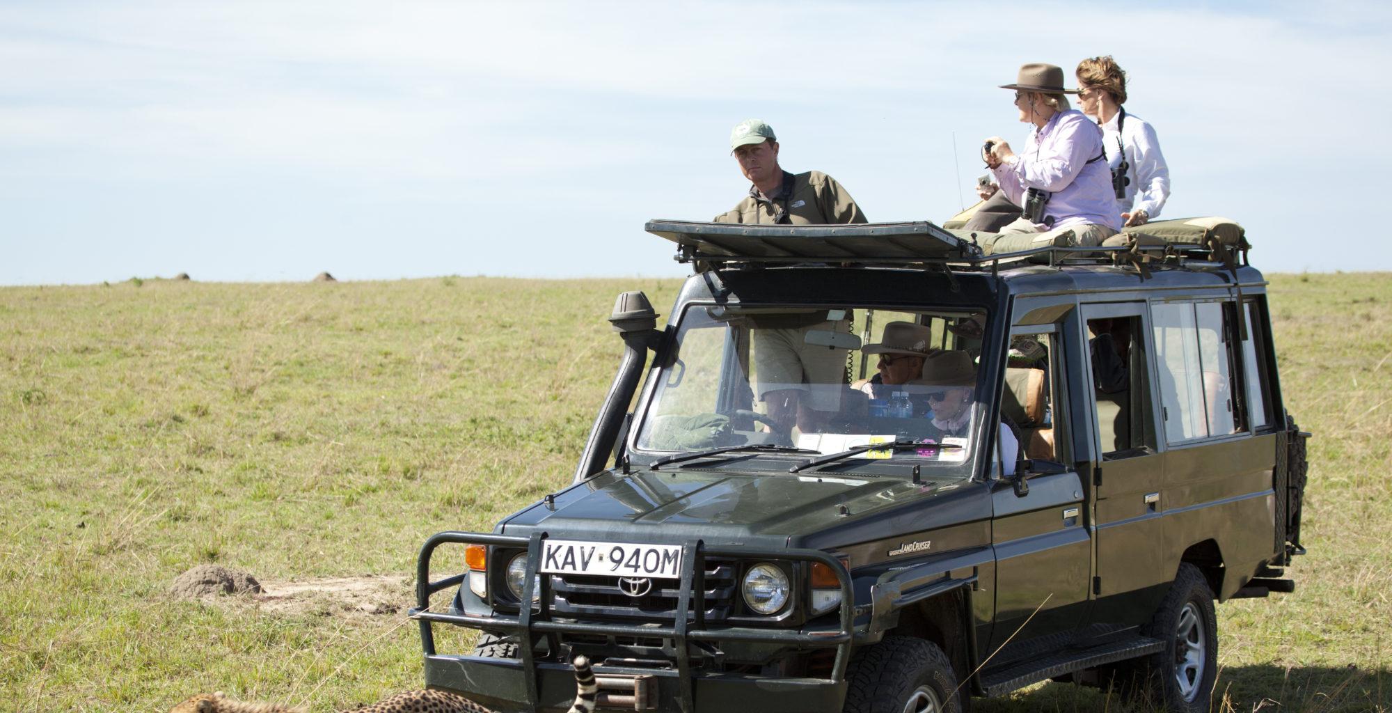 Sala's Camp Kenya Car