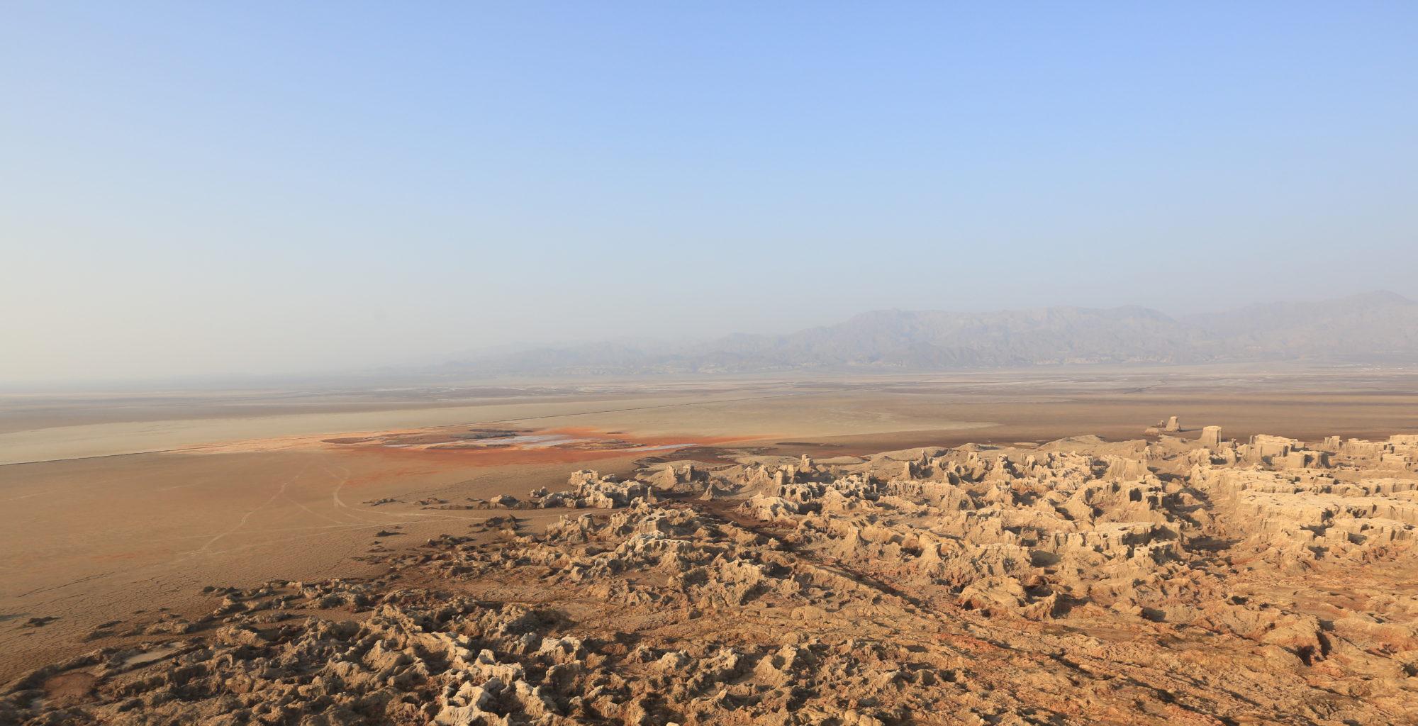 Danakil Ethiopia Aerial