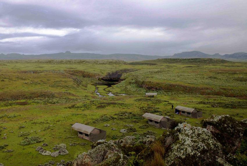 Abaca Camp Bale Aerial