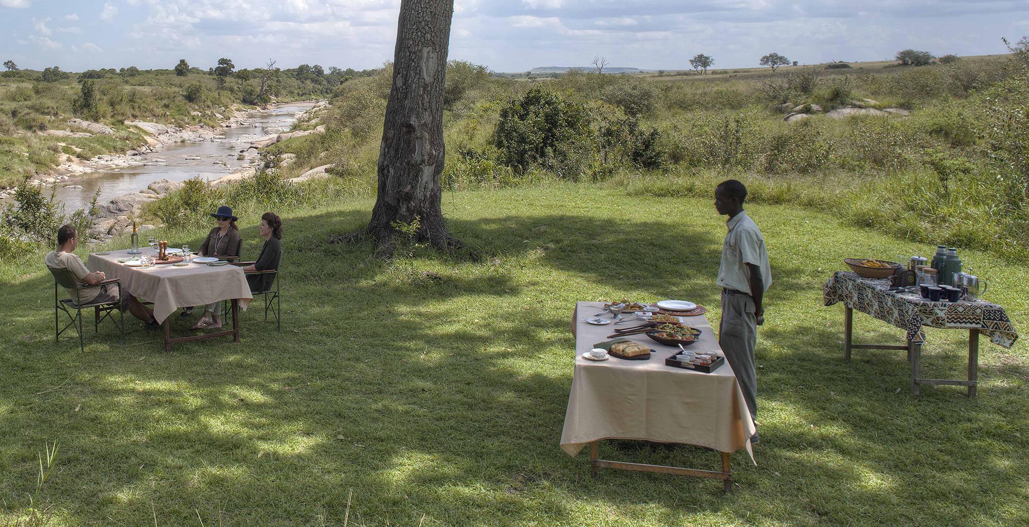 Lunch Rekero Camp Kenya