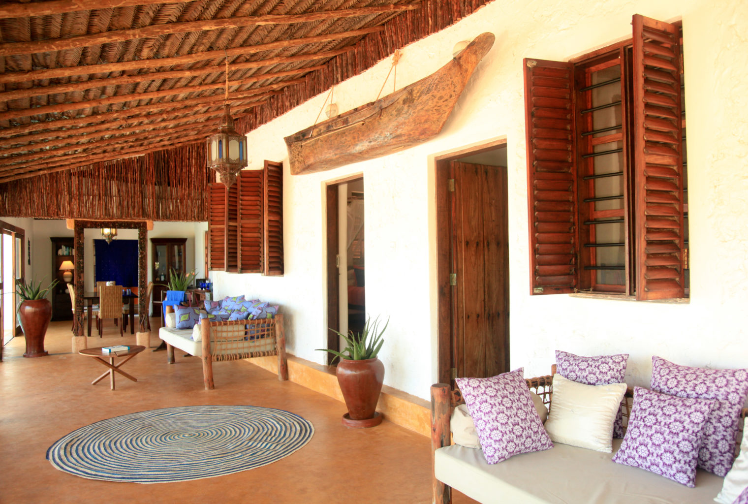 Matemwe Beach House Tanzania Terrace