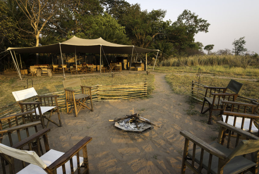 Busange Bush Camp Zambia Exterior