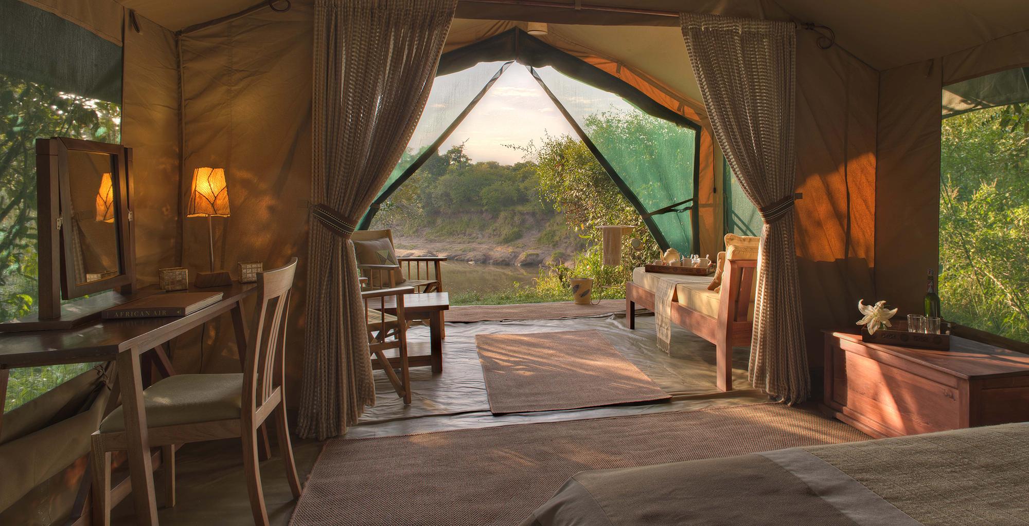 Bedroom View Rekero Camp Kenya