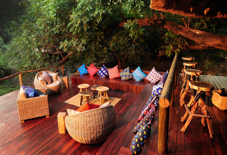 Bilimungwe Camp Zambia DEck