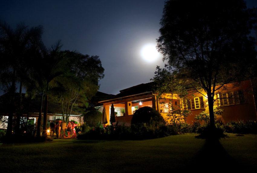 Uganda-Boma-Guesthouse-Exterior-Night