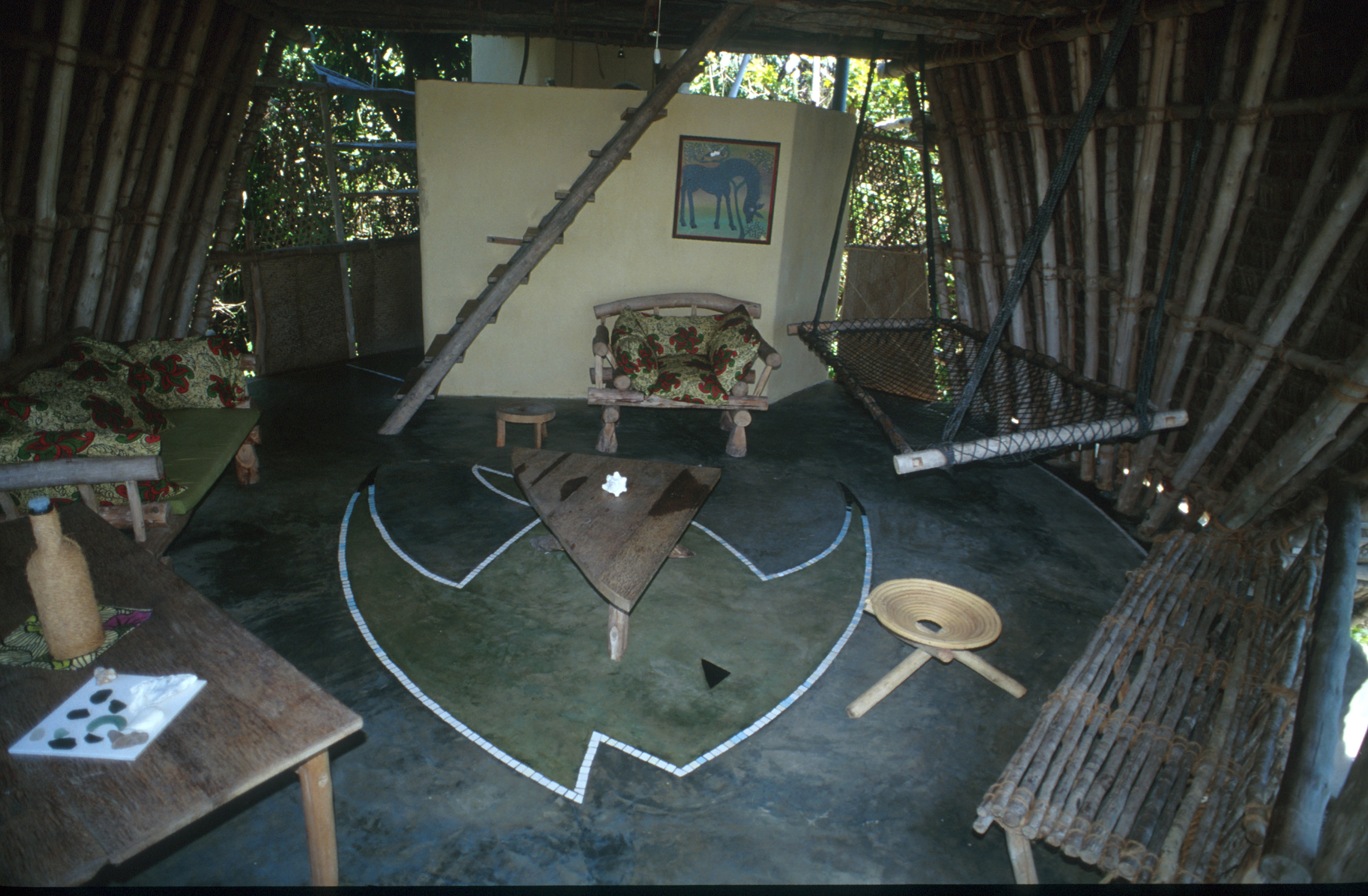Chumbe Island Lodge Tanzania Living Room