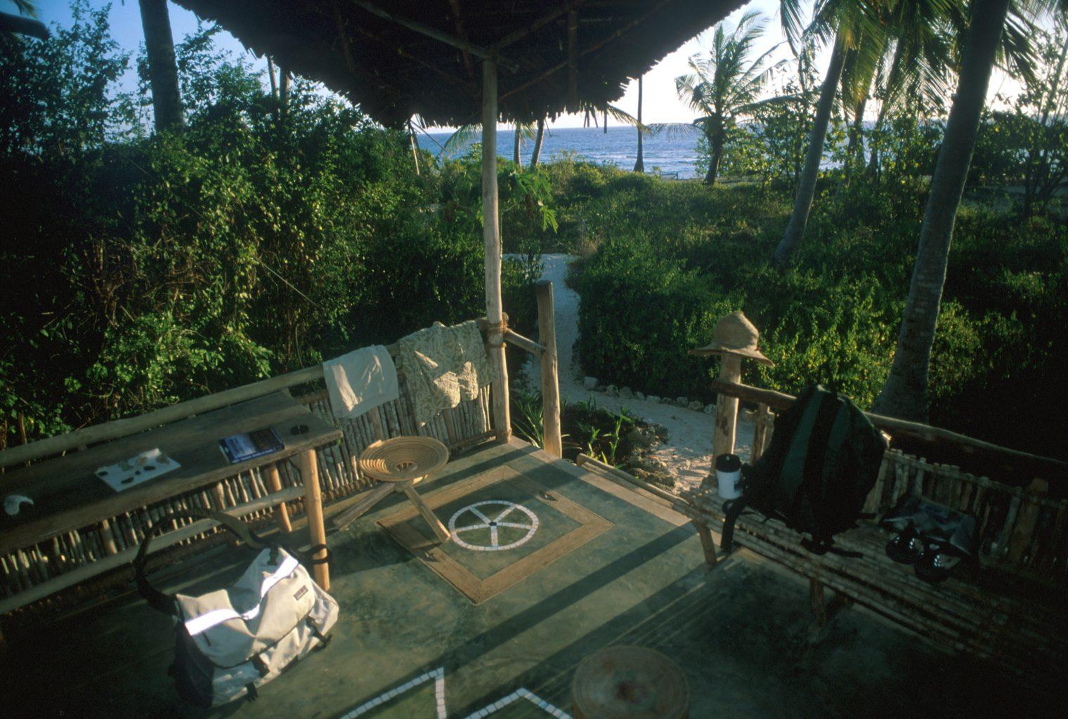 Chumbe Island Lodge Tanzania Living Views
