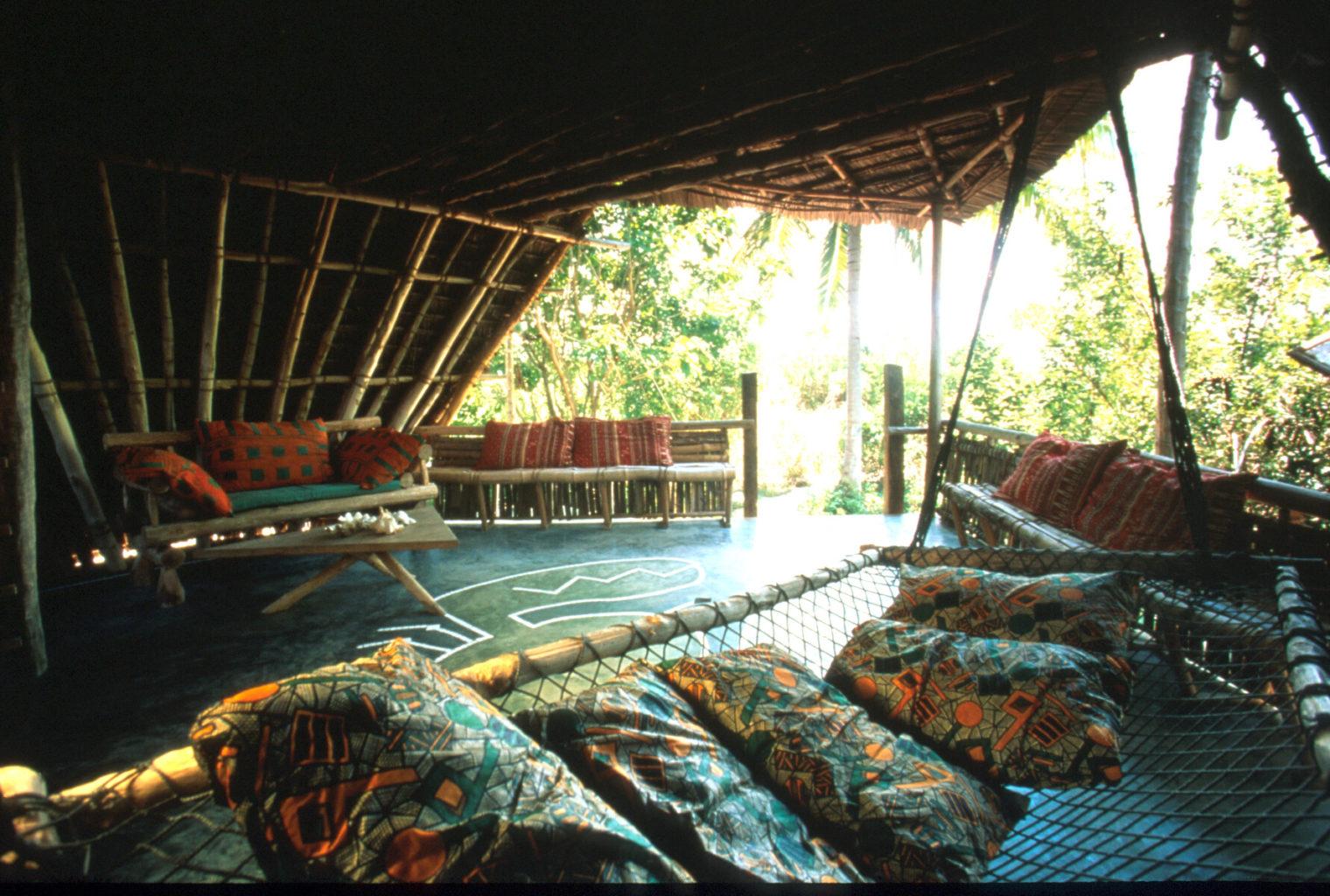 Chumbe Island Lodge Tanzania Living Interior