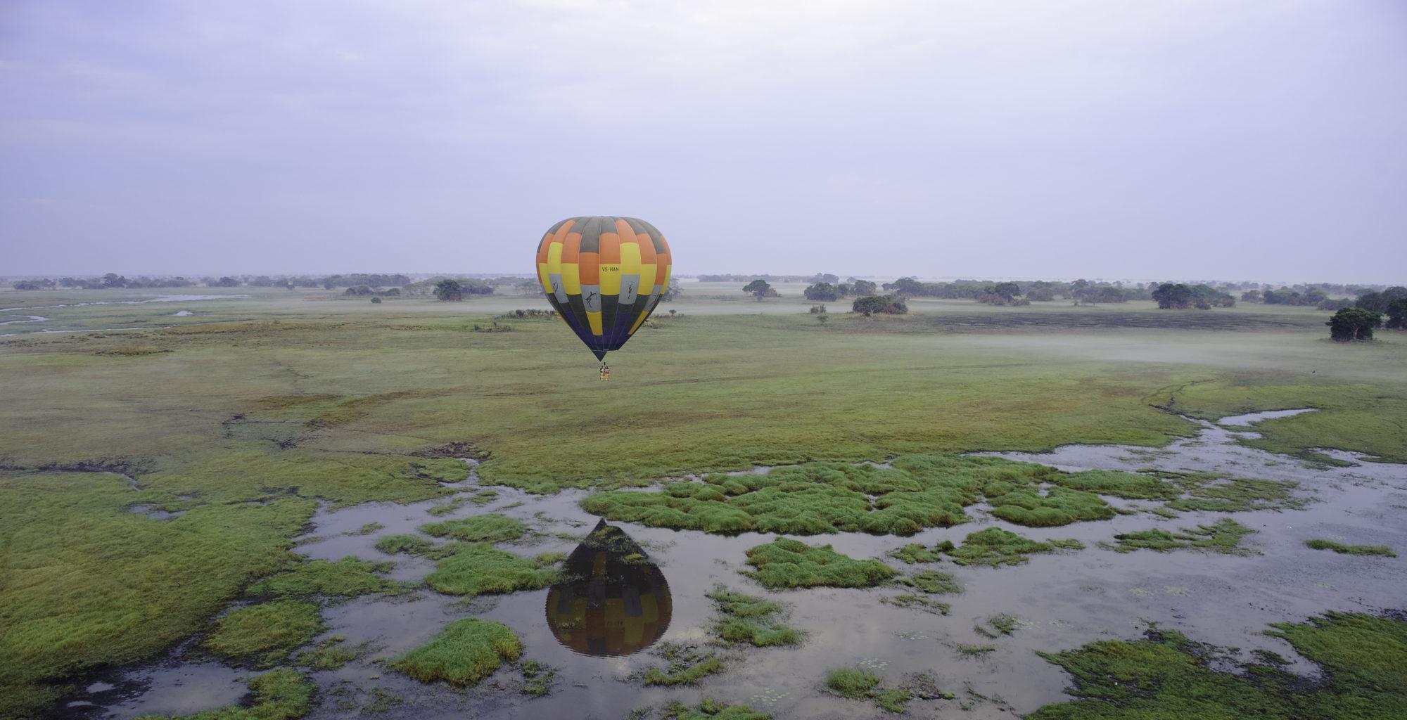 Shumba Camp Zambia Balloon