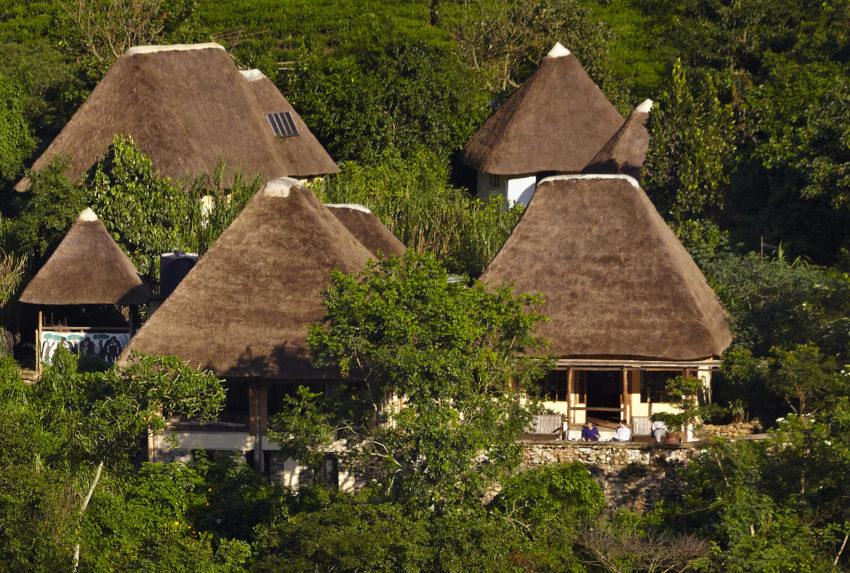 Bwindi Lodge Uganda Exterior