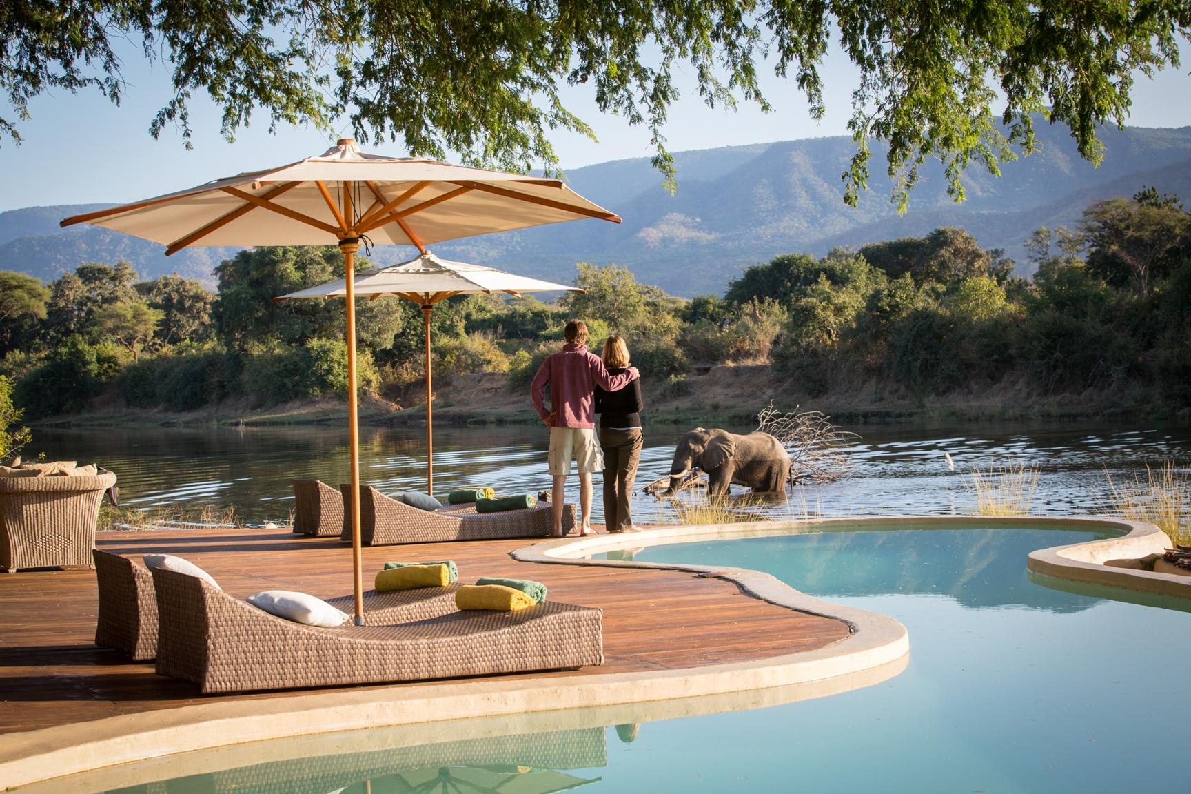 Chongwe River House Zambia Pool