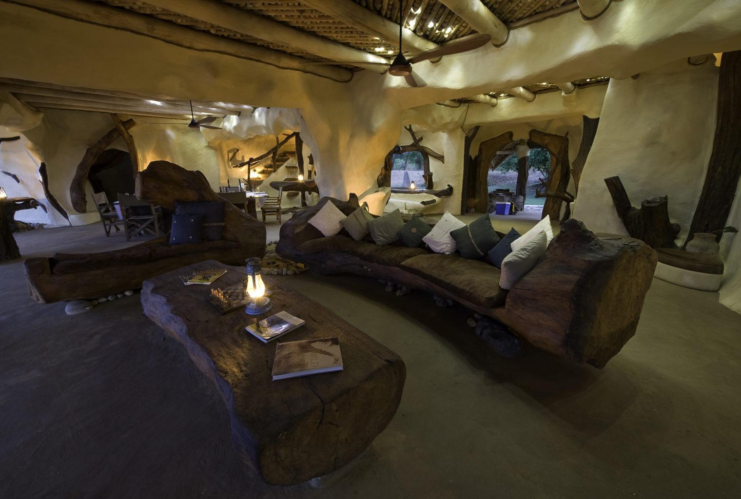 Chongwe River House Zambia Lounge