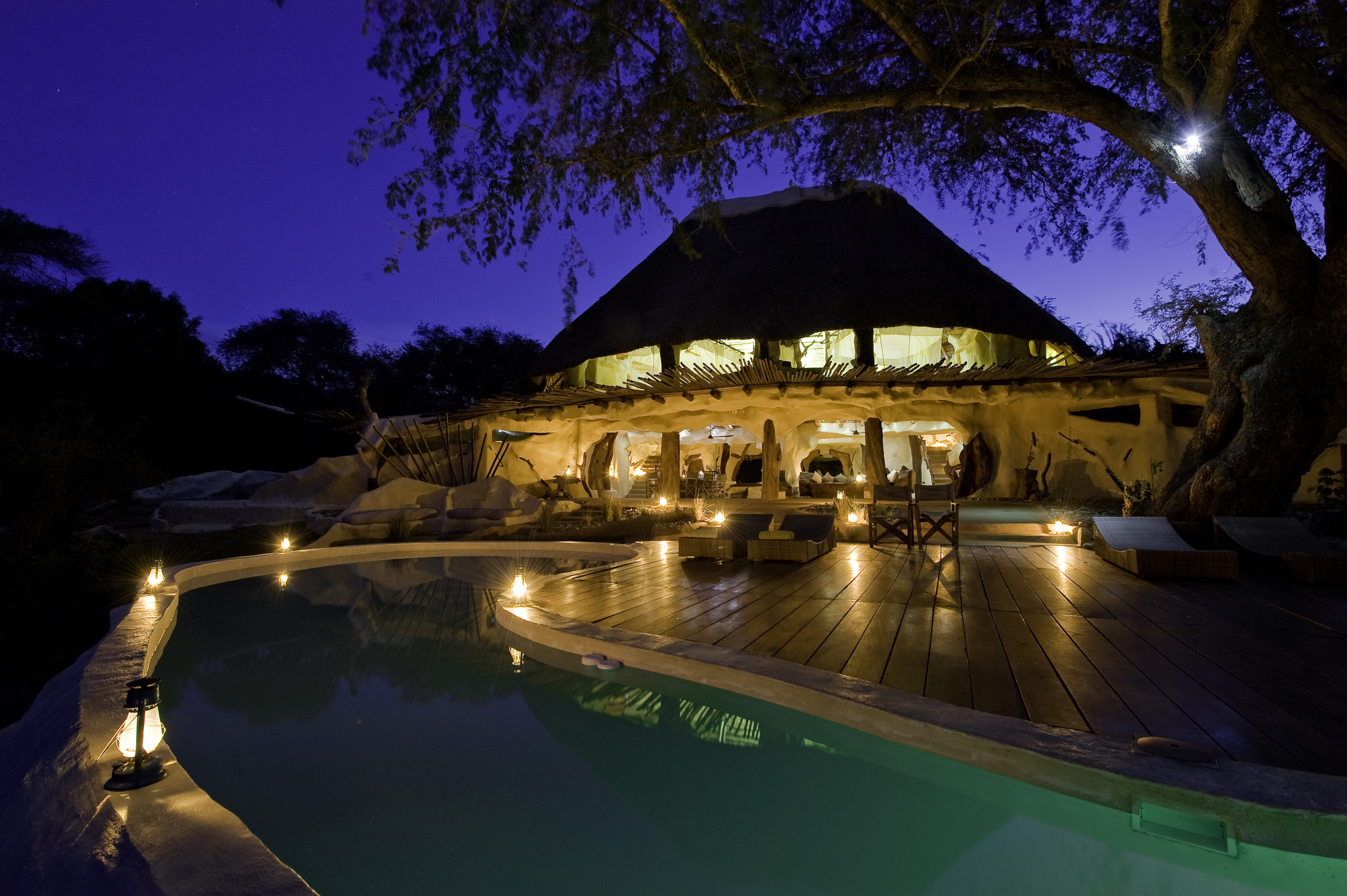 Chongwe River House Zambia Exterior Pool