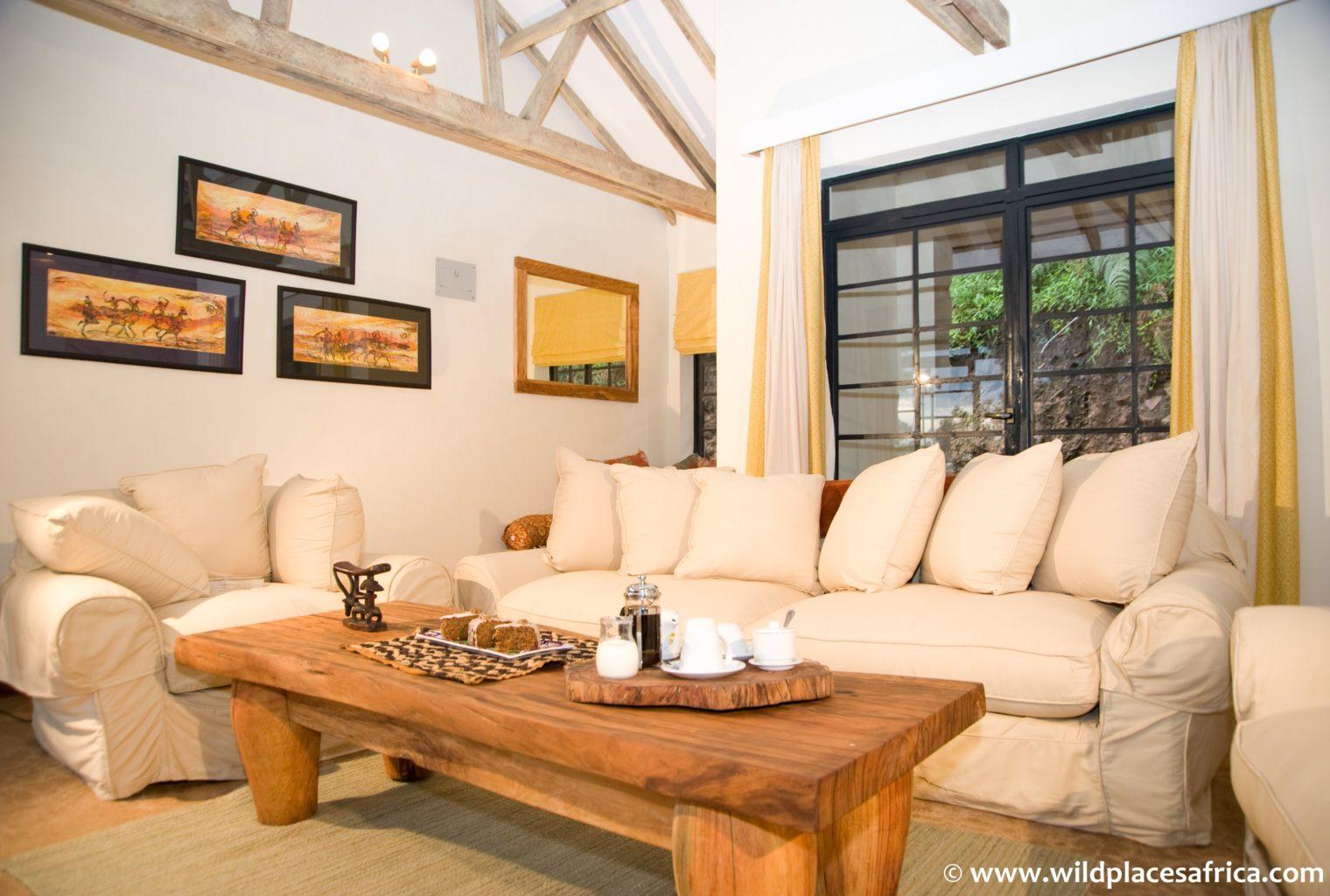Clouds Mountain Gorilla Uganda Lounge
