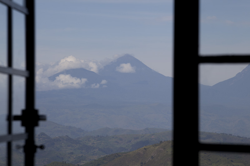 Clouds View of the Virungas from a Window 1