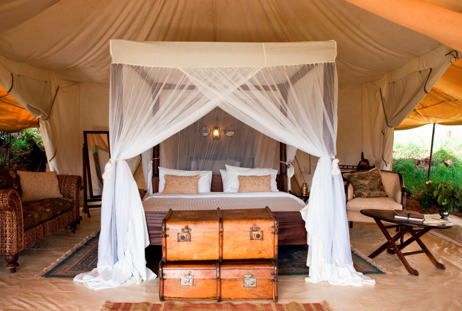 Cottars 1920s Style Kenya Bed