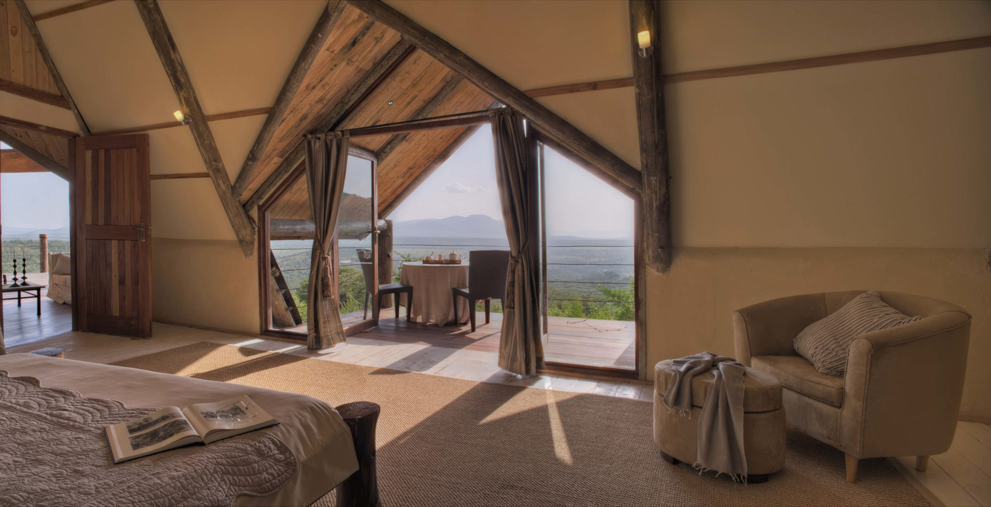 Cottars Private House Kenya- Bedroom