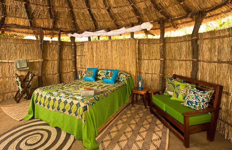 Zambia-Crocodile-Camp Double Bedroom