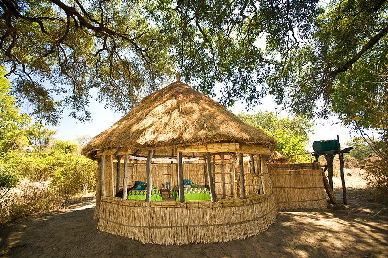 Zambia-Crocodile-Camp-Exterior-Dusk