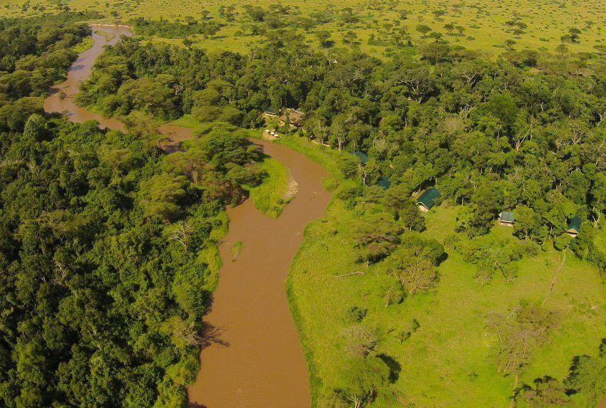 Uganda-Ishasha-Wilderness-Aerial