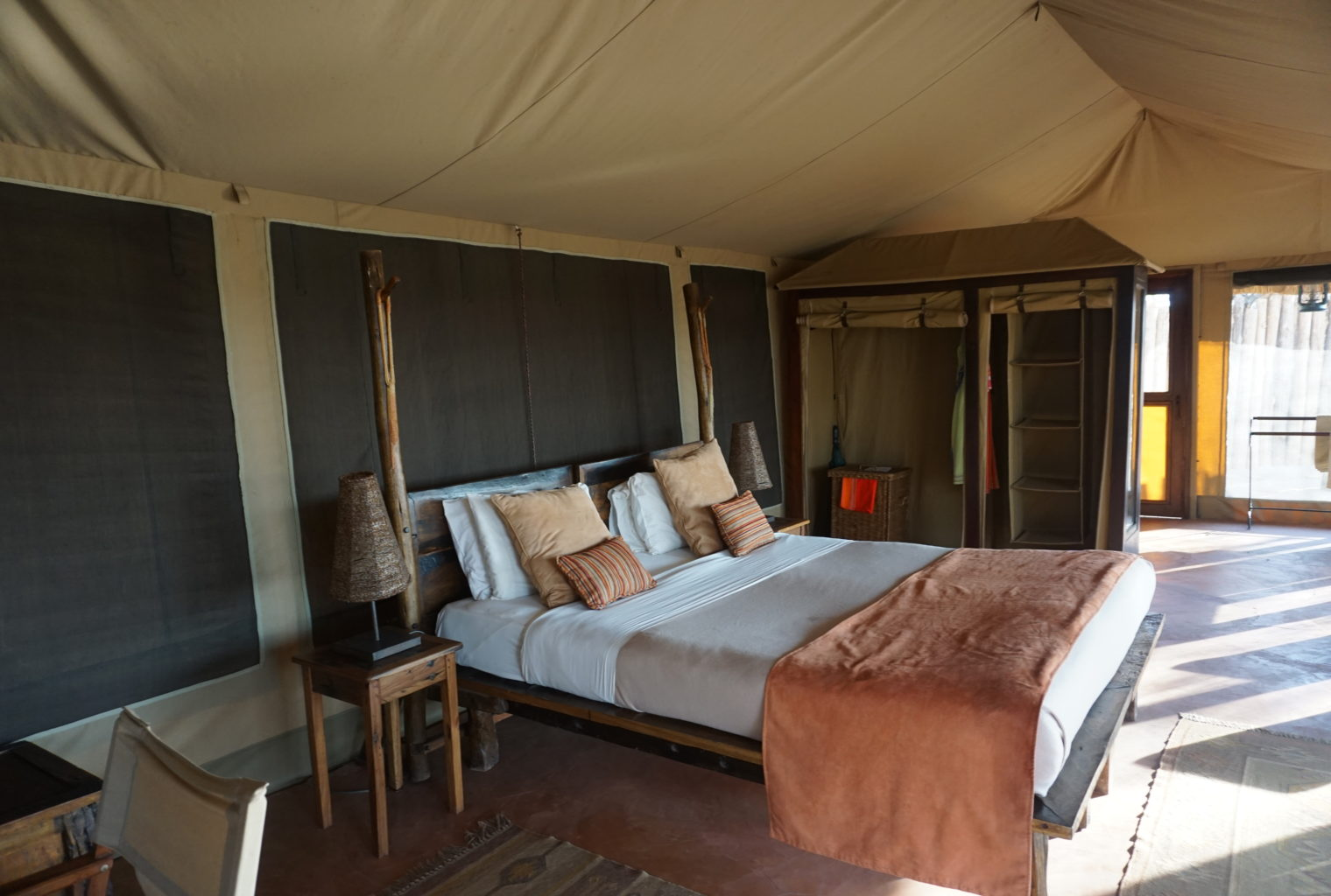 Olivers Tented Camp Tanzania Bedroom