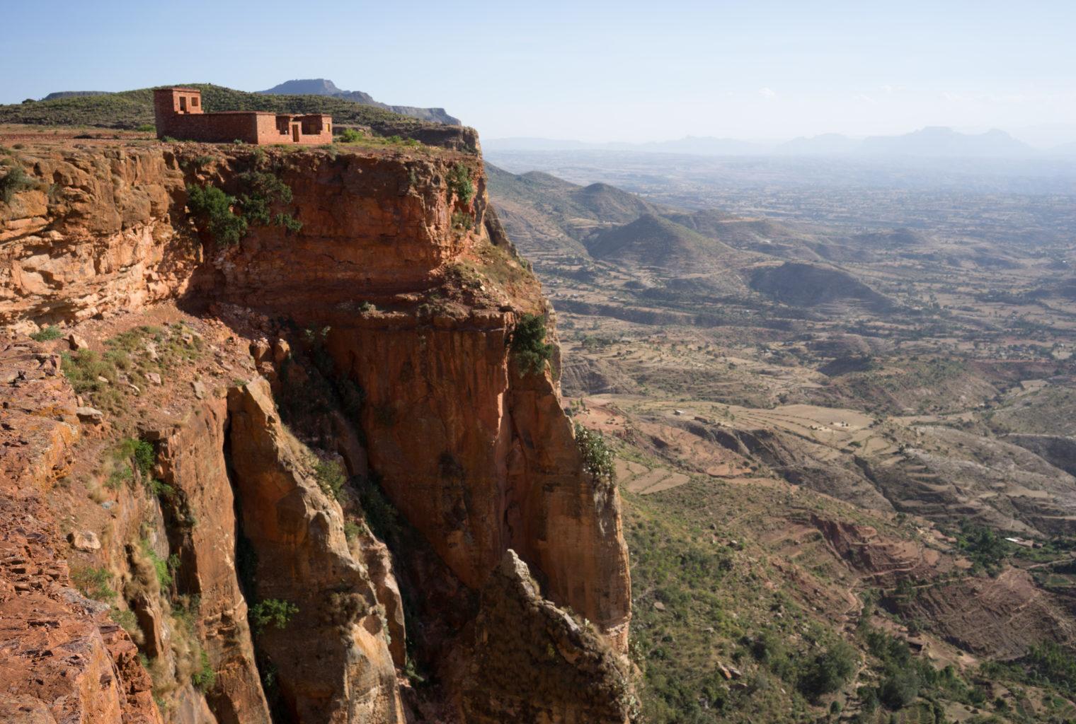 Tigray Community Walk Ethiopia View