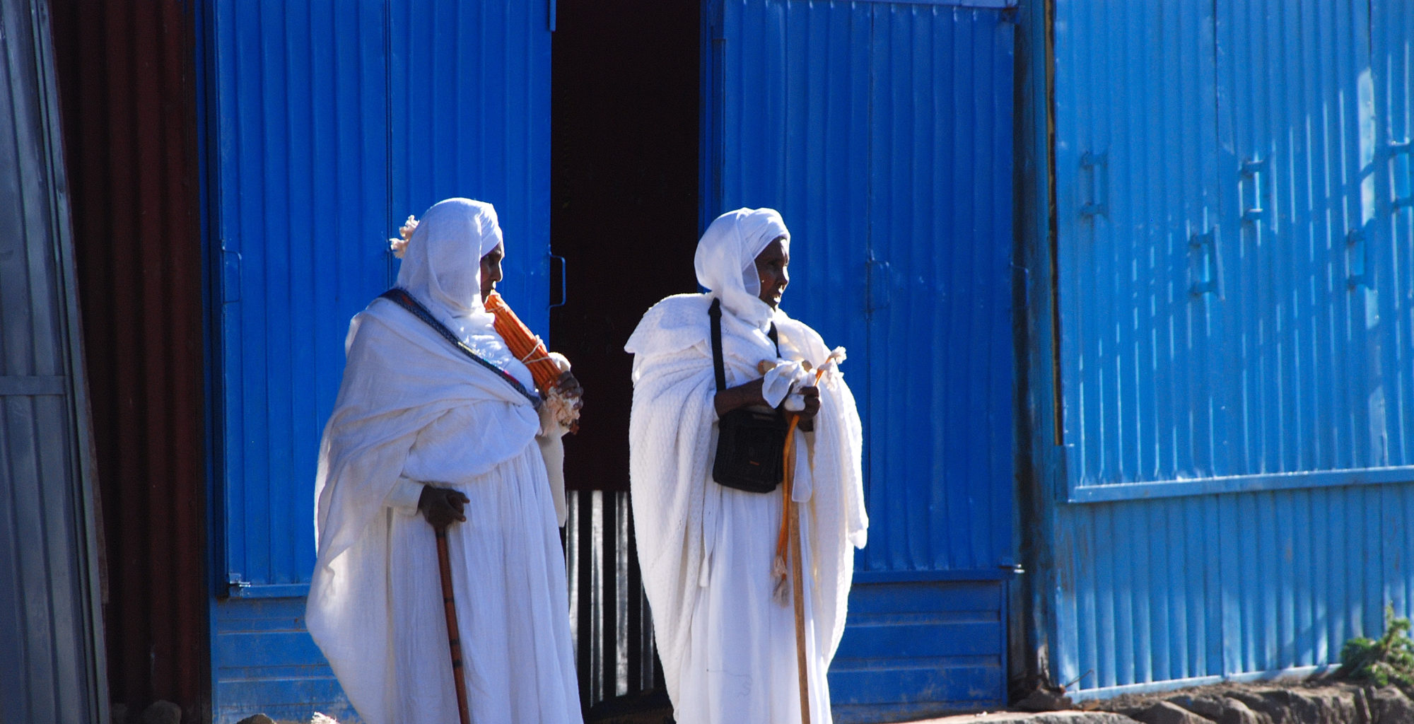 Community Walk Lalibela Ethiopia