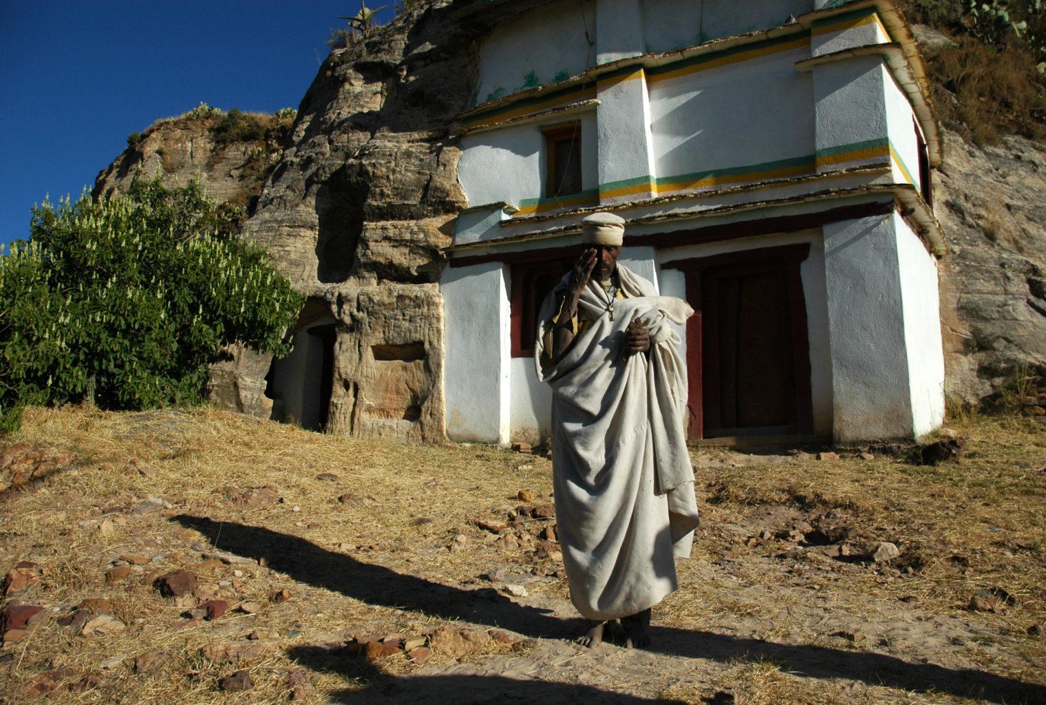 Gheralta Lodge Ethiopia Exterior Man