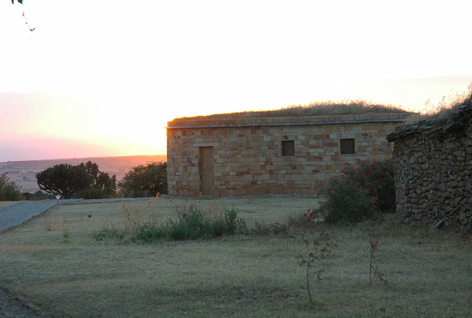 Gheralta Lodge Ethiopia Exterior Sunset