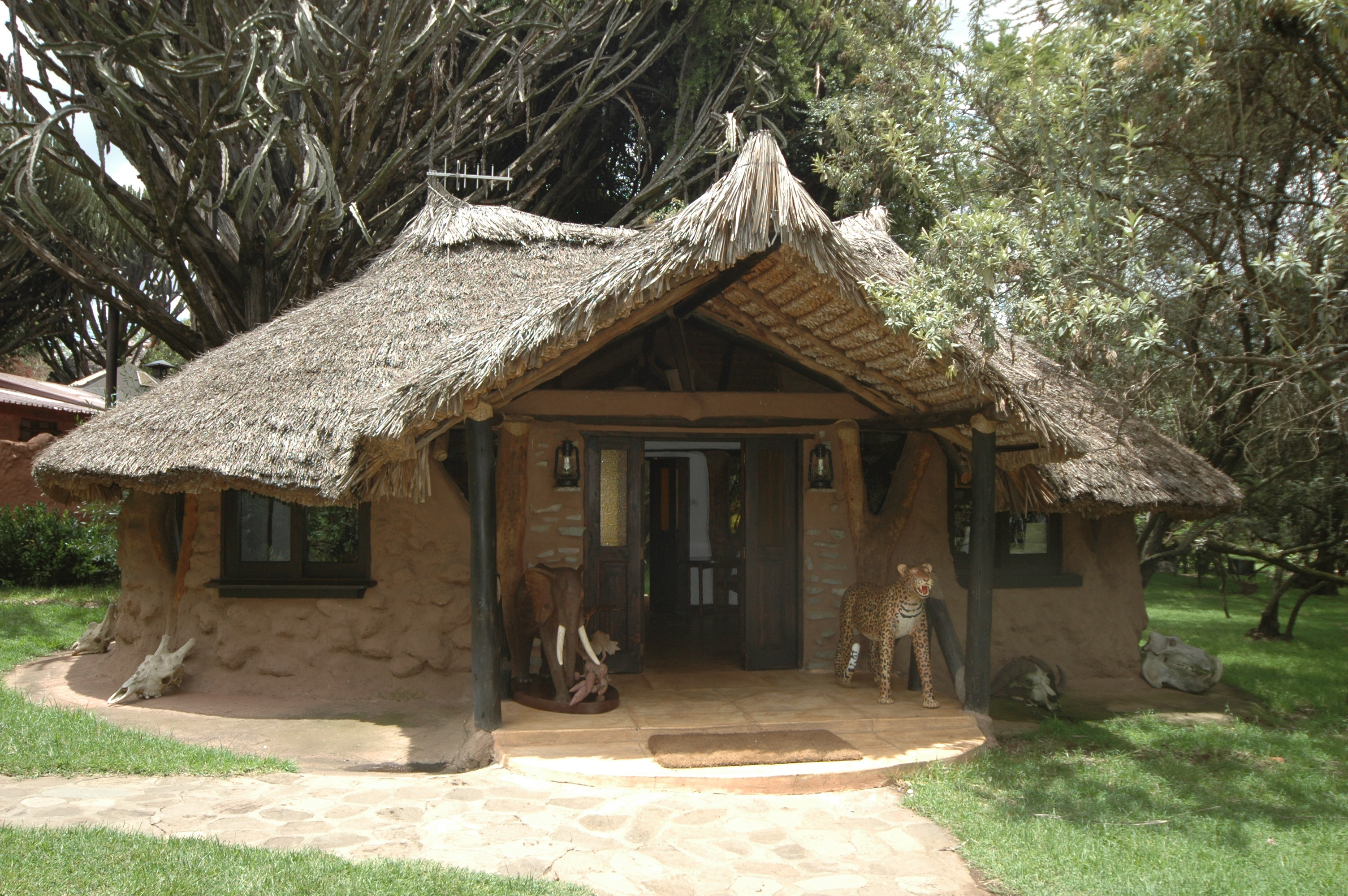 Chui Lodge Kenya Entrance
