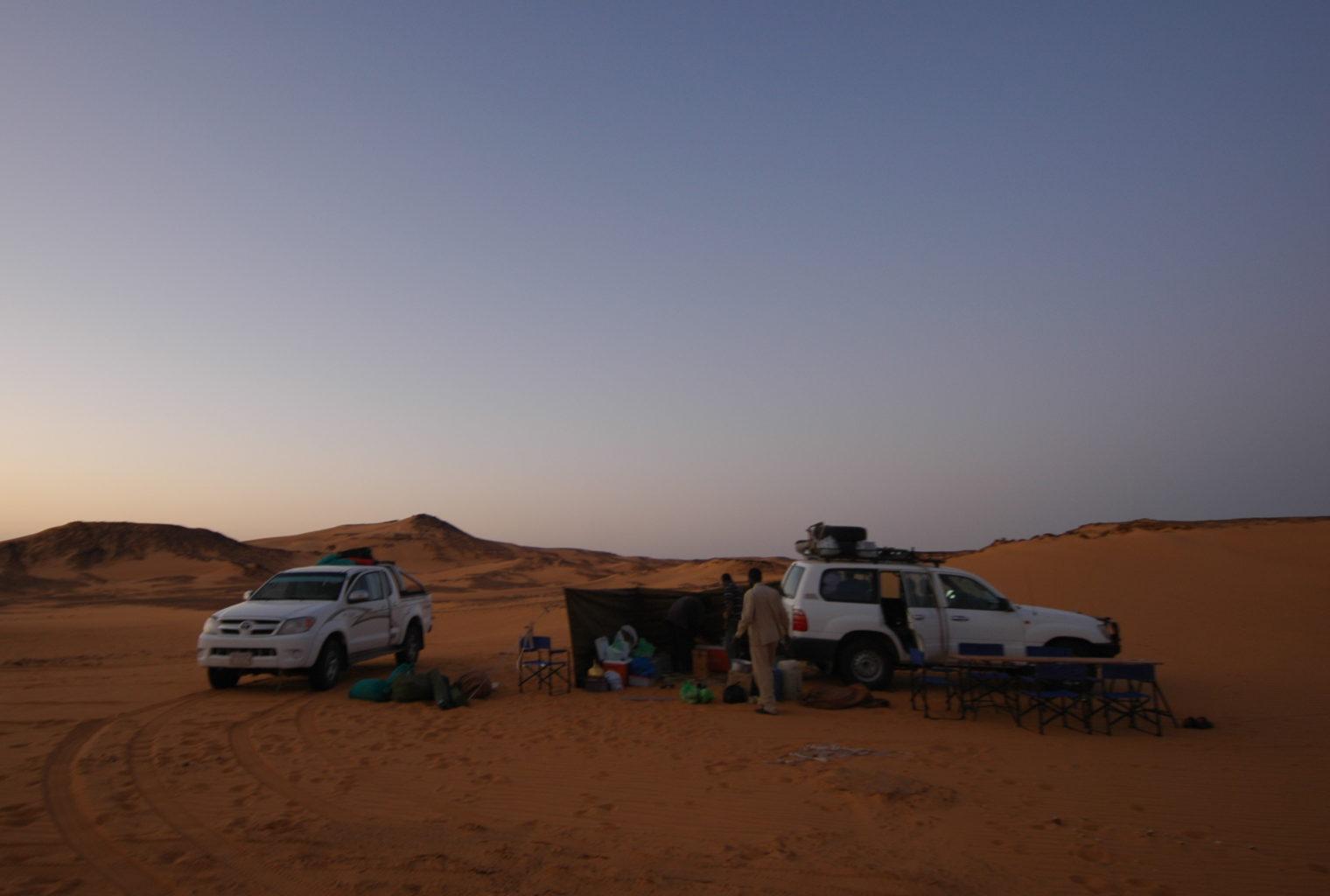 Kerma Wild Camping Sudan Tents