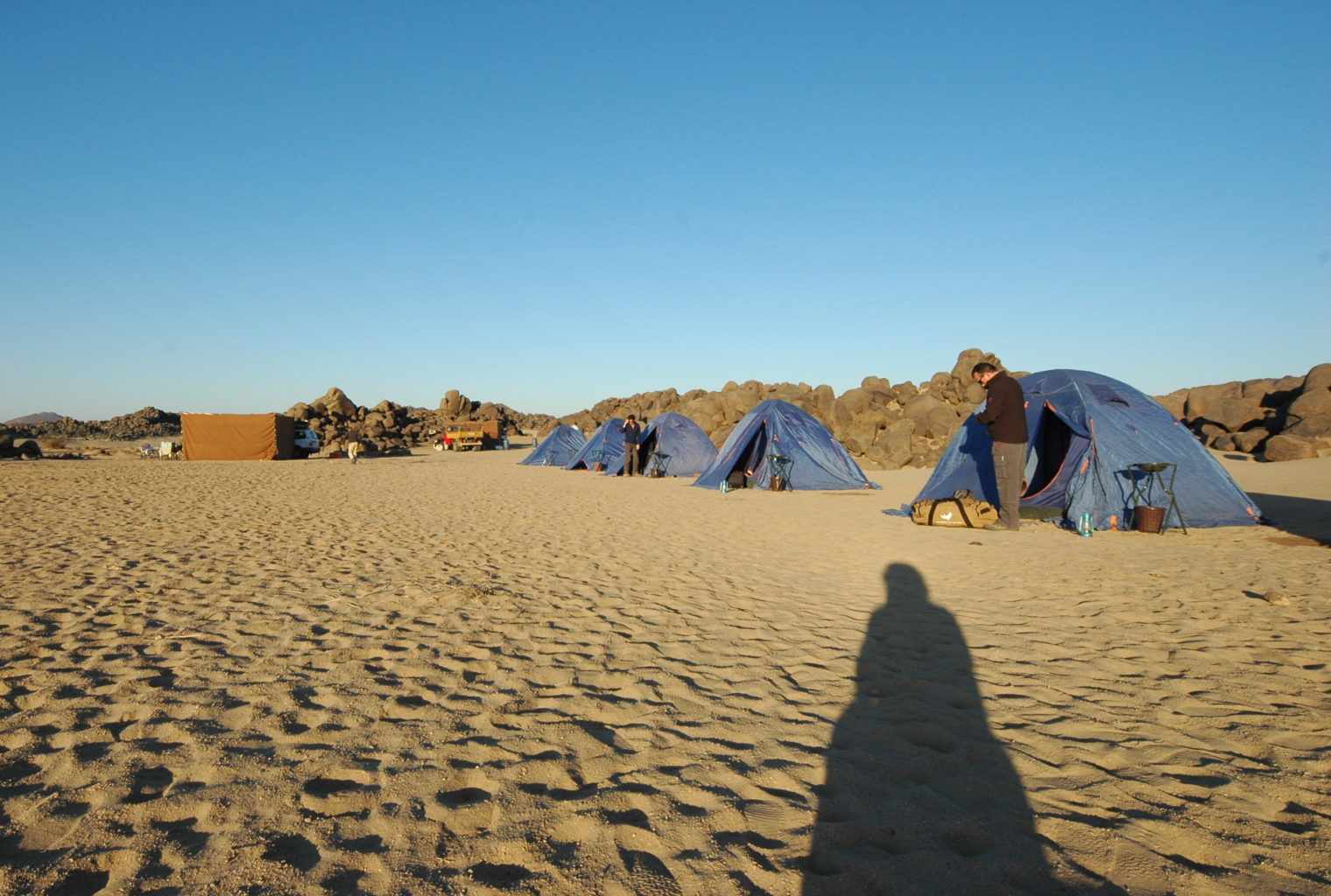 Tombos Wild Camping Sudan Tents