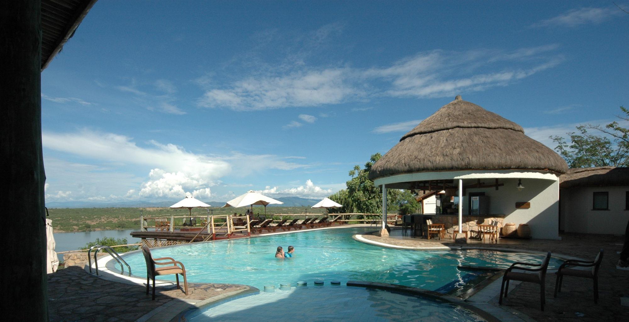 Mweya Lodge Uganda Pool