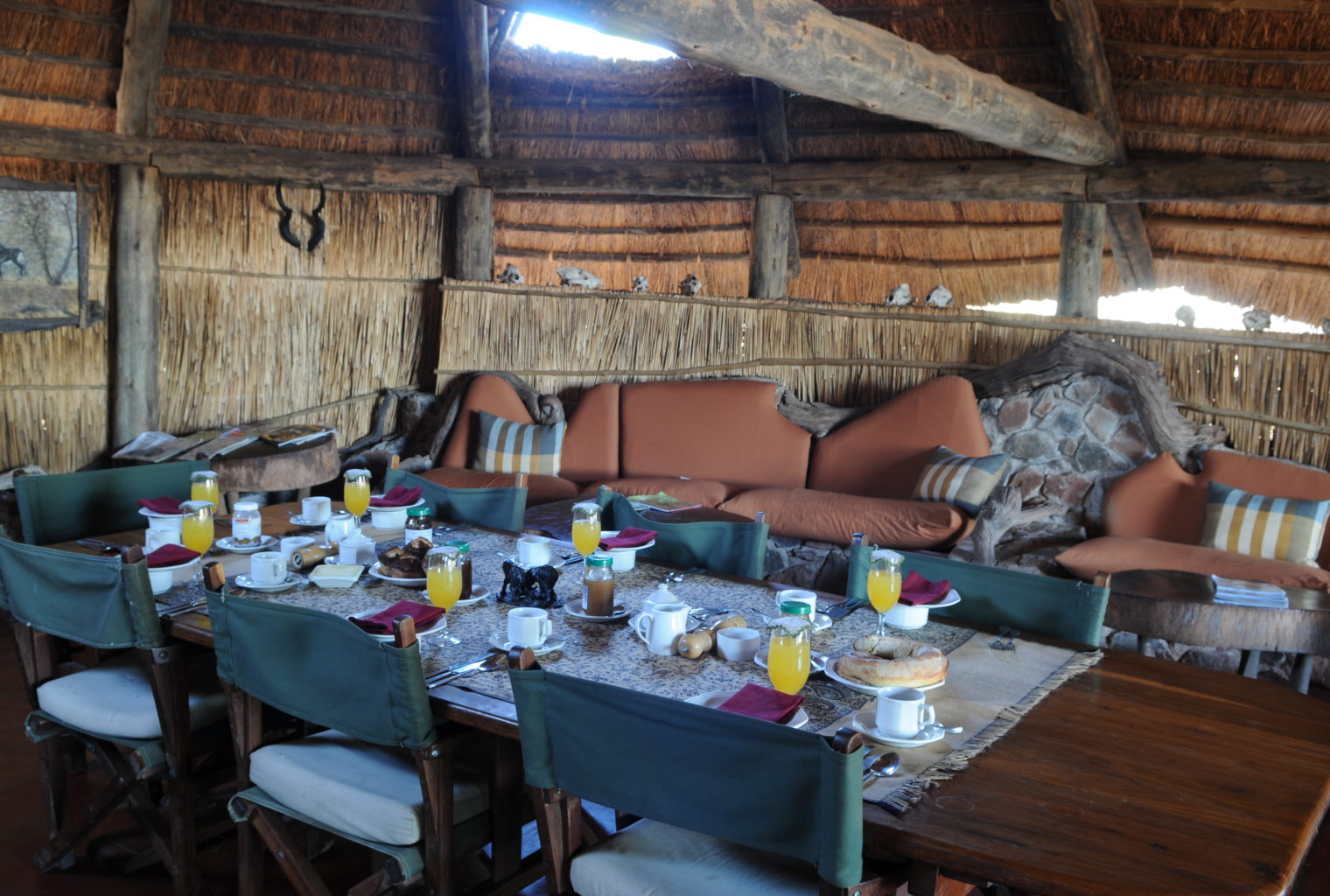 Mwagusi Safari Camp Tanzania Breakfast