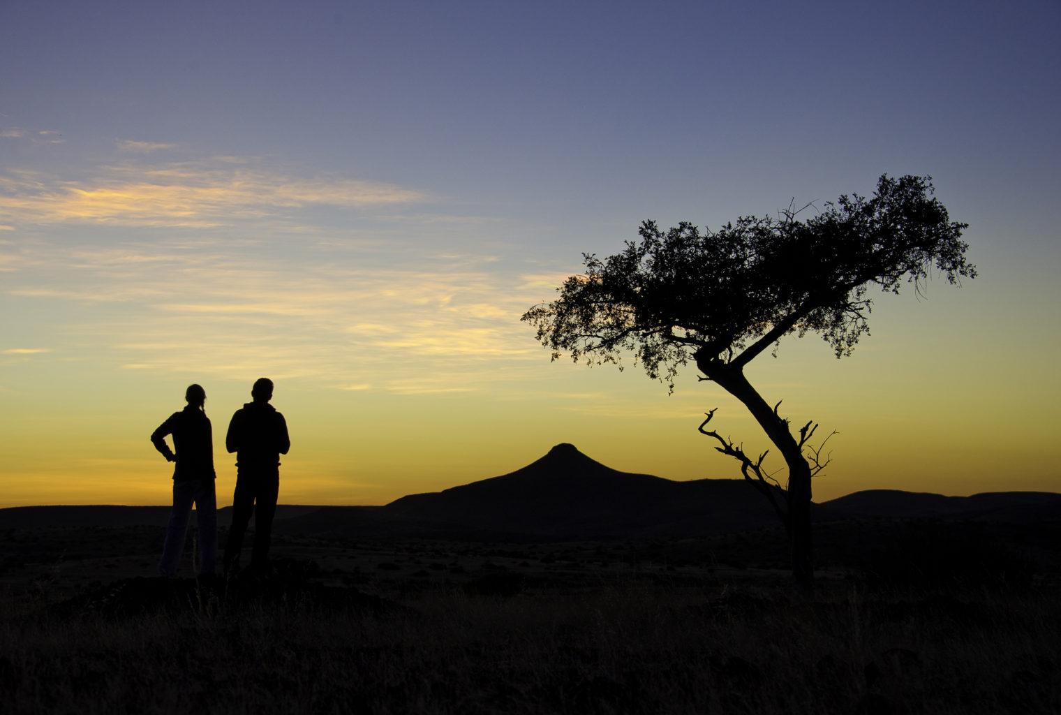 Damaraland Camp Namibia Sunset