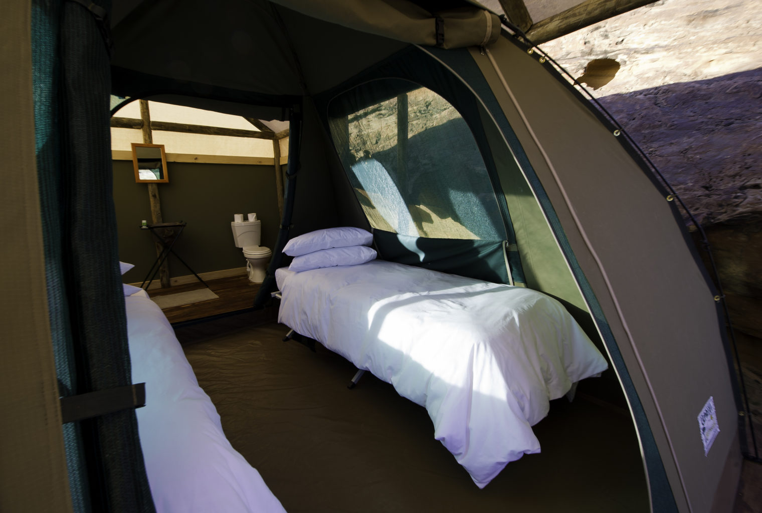 Damaraland Adventurer Camp Namibia Bed